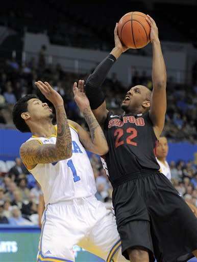 UCLA beats Stanford 72-61 to win 2nd straight