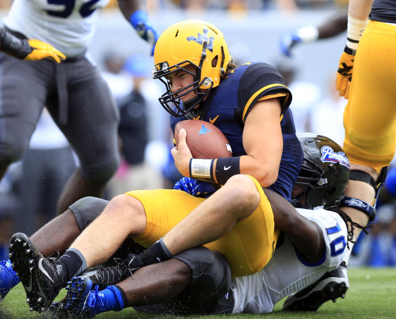 West Virginia beats Georgia State 41-7