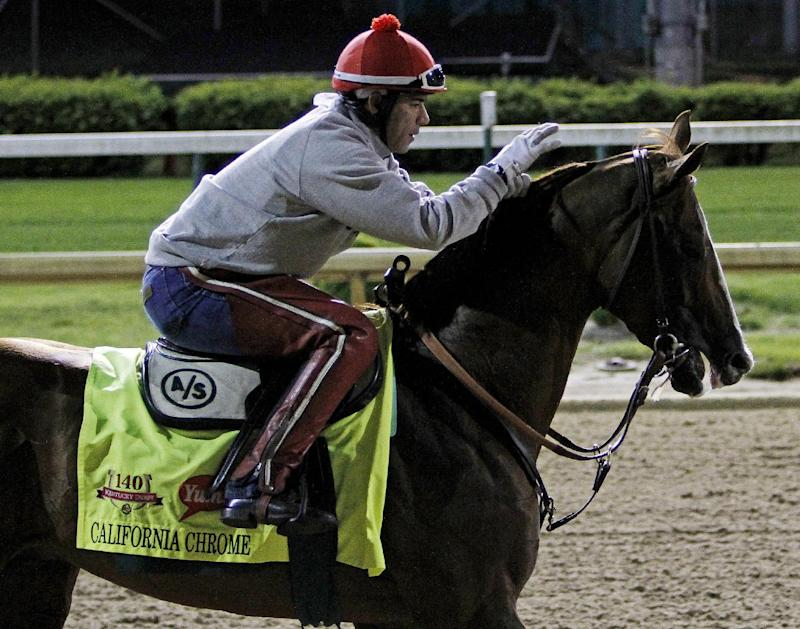California Chrome sets gold standard for Derby