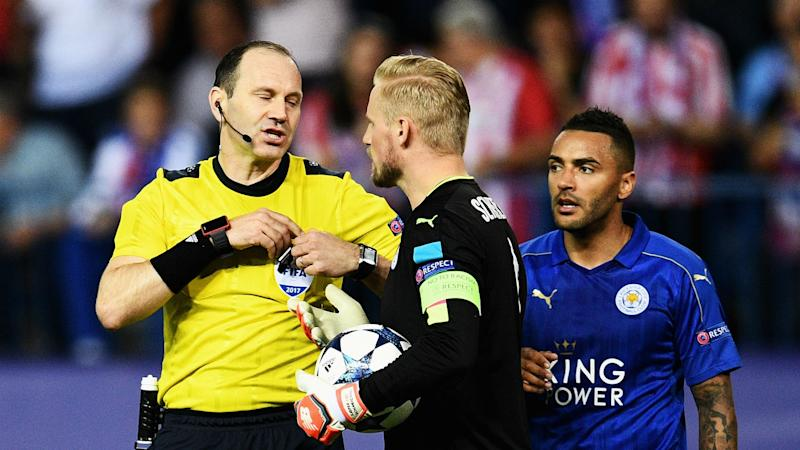 Kasper Schmeichel says Leicester up for fight in Champions League