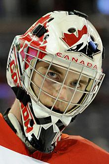 Scott Wedgewood impressive in net for Canada