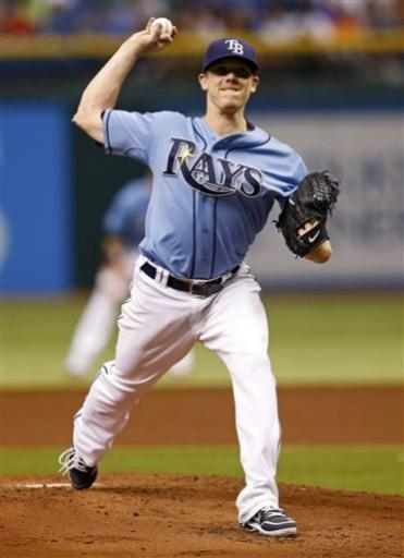 Hellickson wins 5th game in June, Rays beat Tigers