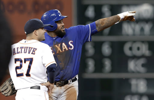 Fielder out of Texas lineup, Arencibia to minors