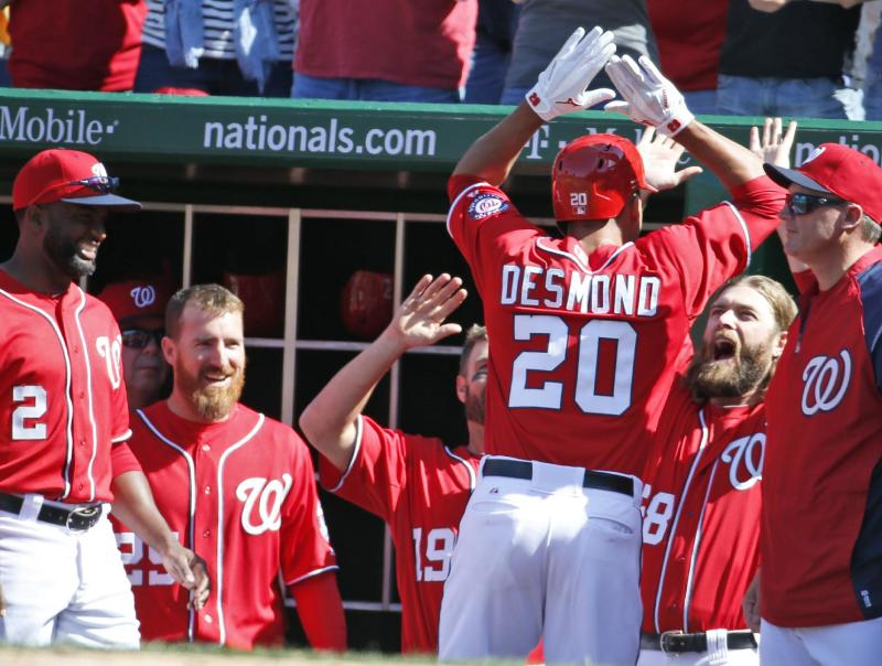 Nationals avoid sweep with 2-1 win over Braves