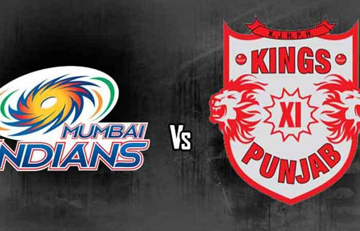 Amla ton takes KXIP to 198/4 against MI