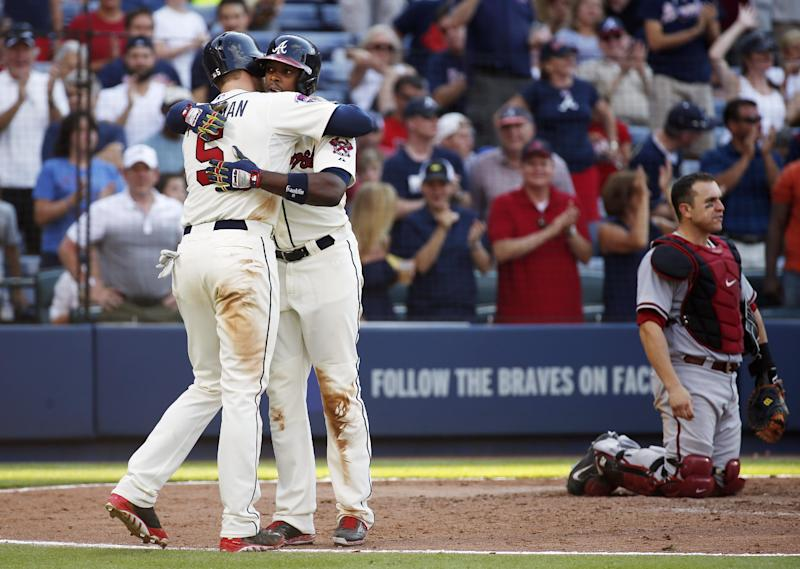 Simmons, Harang spark Braves to 9th straight win