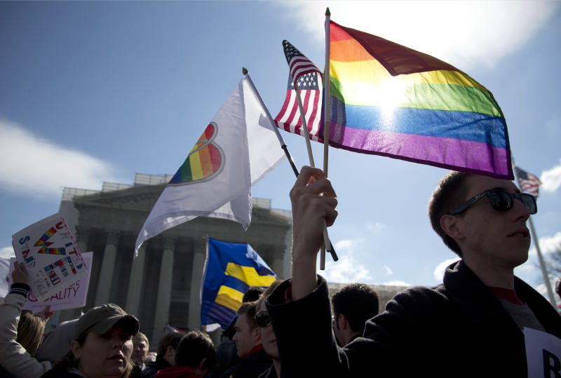 High court skeptical of federal marriage law