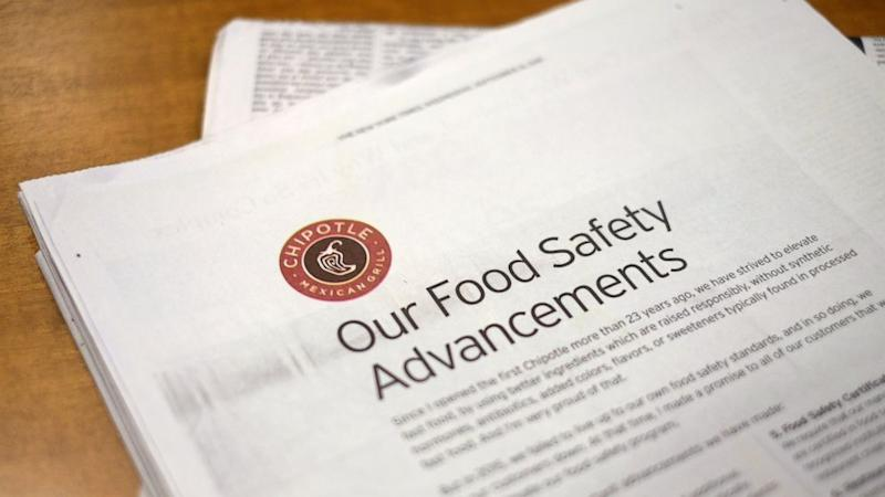 Chipotle makes new push to convince people its food is safe