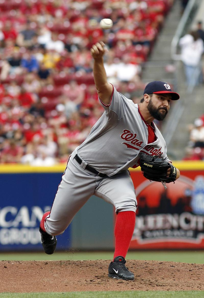 Nationals send Reds to 7th straight loss 4-1