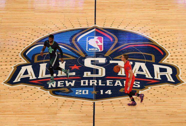 Because of one brilliant idea, New Orleans was in position to host the All-Star Game for the second time in four years. (Getty Images)