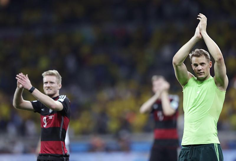 Germany vs Argentina: How they compare