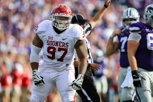 Jordan Evans Named Big 12 Defensive Player Of The Week