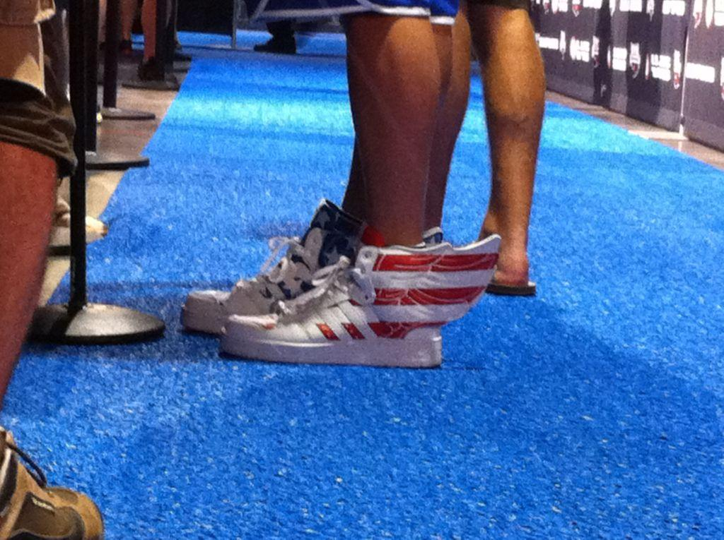 Ryan Lochte shoes