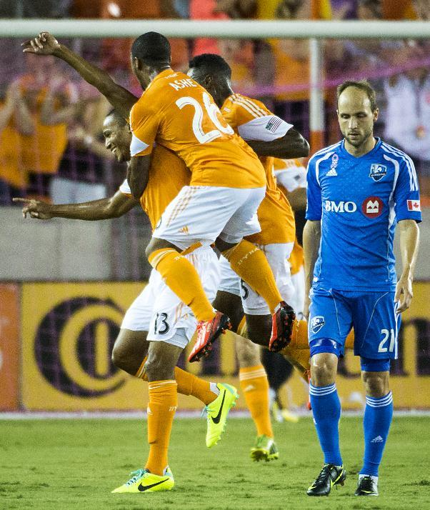 Clark scores in 6th minute, Dynamo beat Impact 1-0