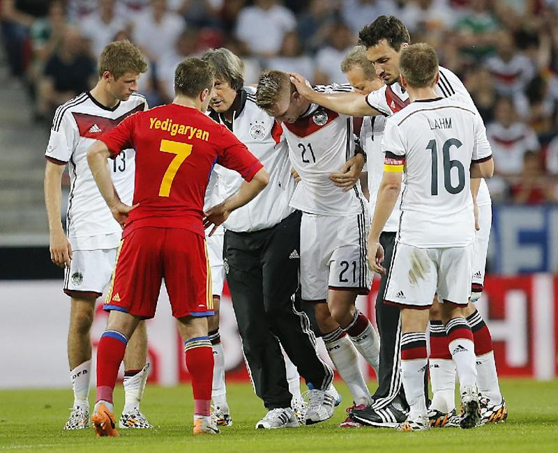 Reus ruled out of World Cup for Germany