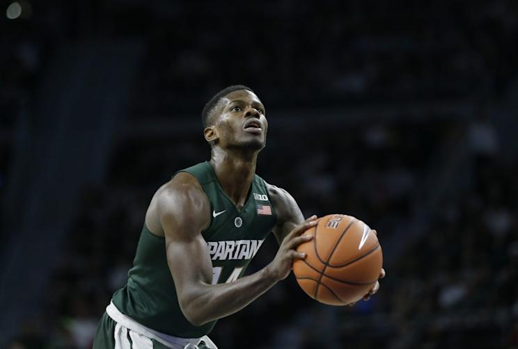 Surgery planned, season over for Michigan State senior Eron Harris