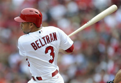 Beltran homers twice as Cardinals beat Nats 10-4