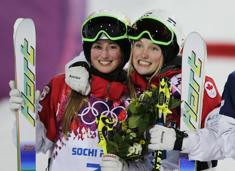 Dufour-Lapointe sisters go 1-2 in Olympic moguls