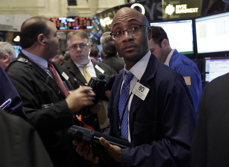 Falling commodities give Dow worst day of the year
