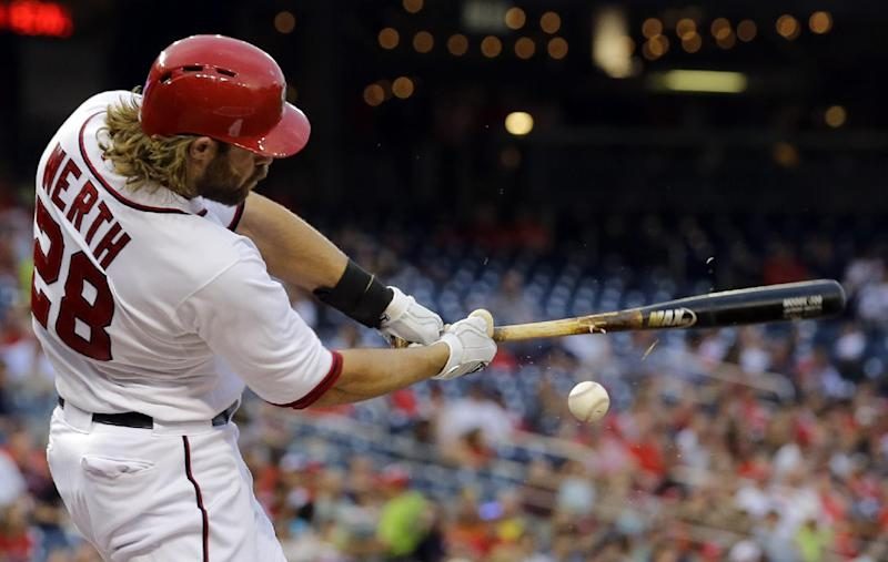 LaRoche homers, Nats take 4-2 win over Giants