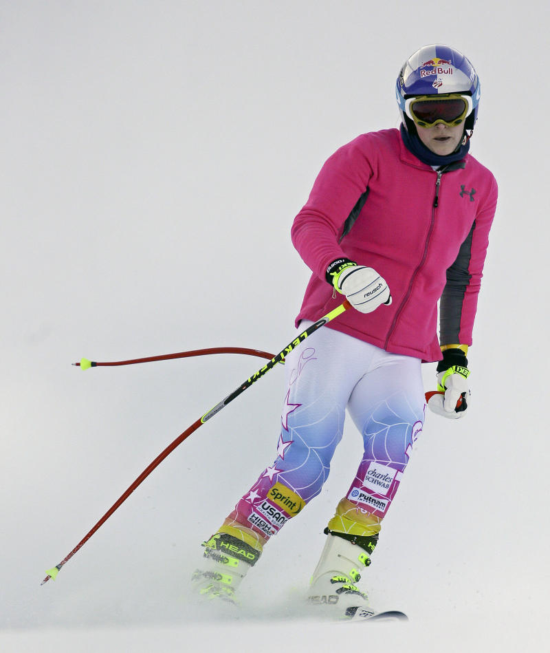 Vonn: Knee 'stable' after World Cup training run