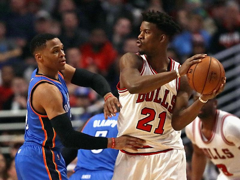 Jimmy Butler scores one point in ugly loss to Russell Westbrook, Thunder