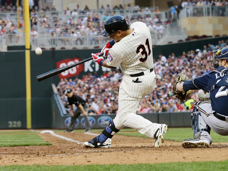 Arcia powers Twins past Brewers 6-4