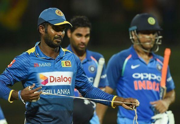 Sri Lanka batting first against India