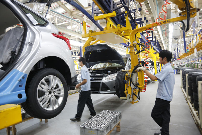 Late to the Chinese market, Ford aims to catch up