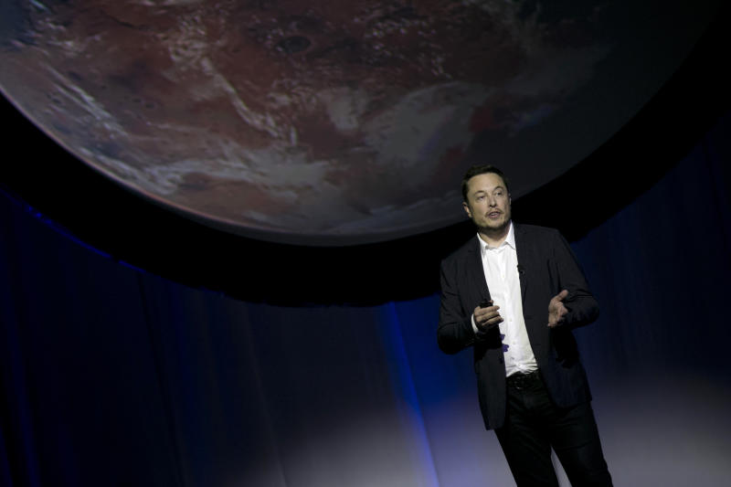 Elon Musk has revealed ambitious plans to colonise Mars
