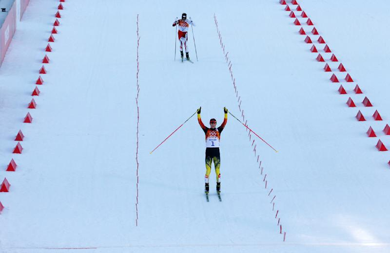 Frenzel wins Olympic gold in Nordic combined