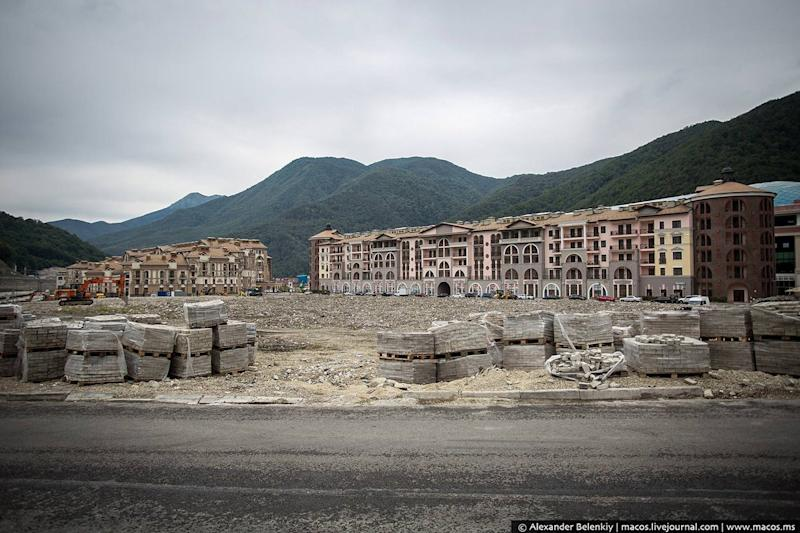 sochi mountain cluster ghost city 2014 olympics 1