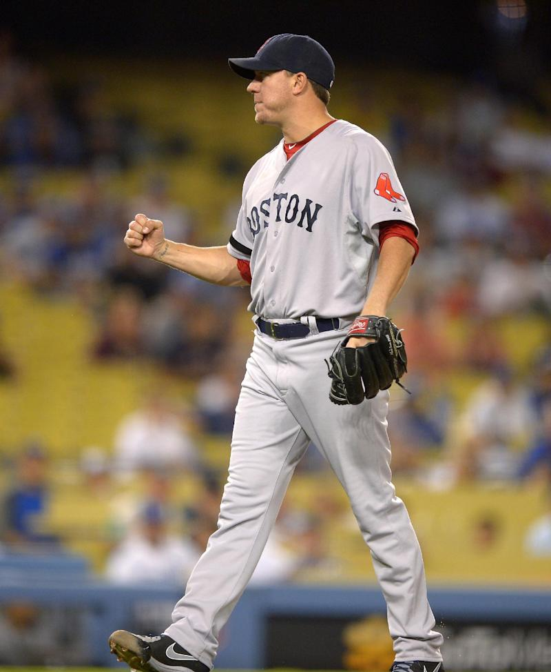 Red Sox power past Dodgers 8-1