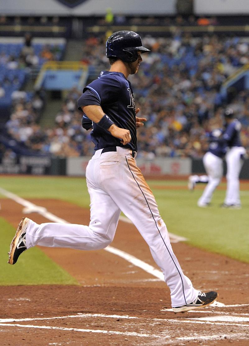 Cobb hit by line drive in Rays' win over Royals