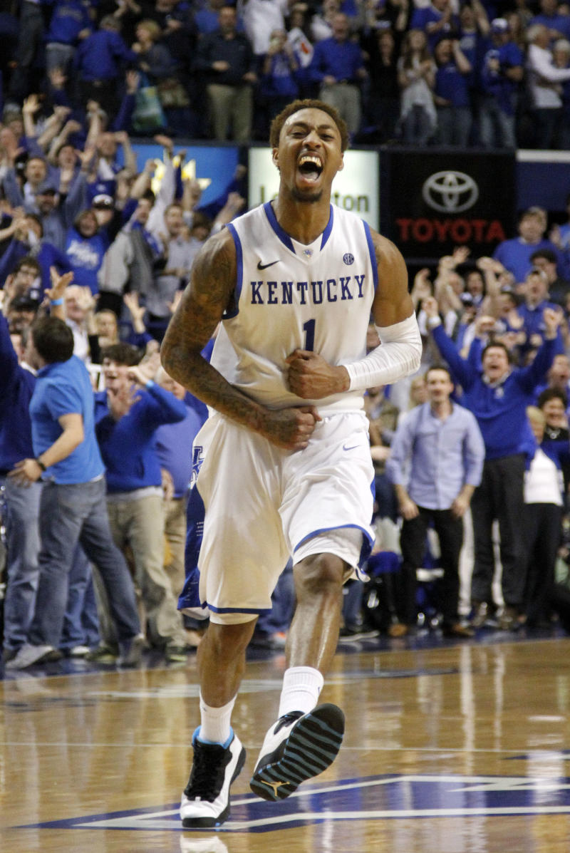 No. 18 Kentucky edges LSU 77-76 in OT