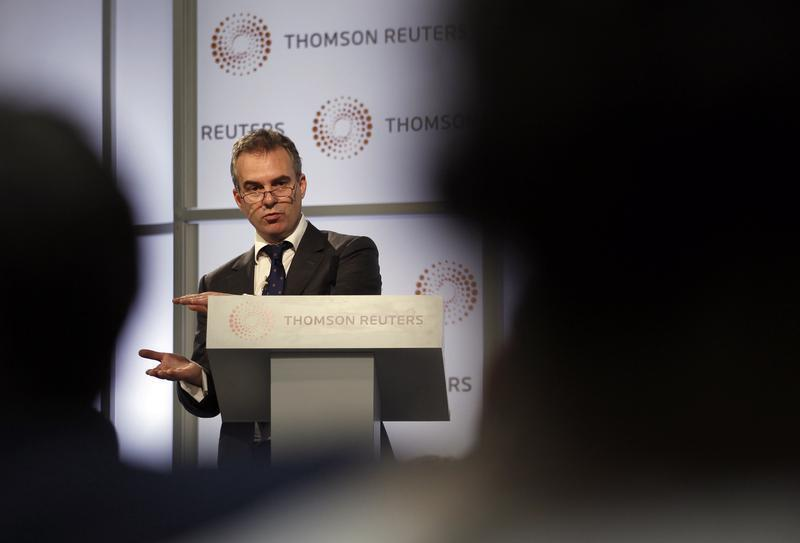 Bank of England policymaker Ben Broadbent speaks at Thomson Reuters in London