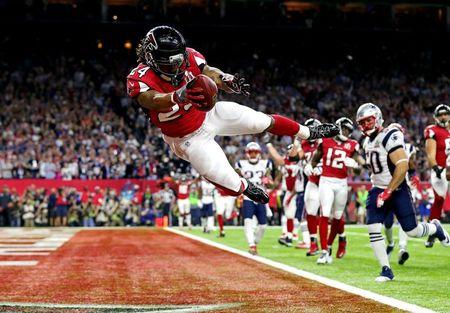Feb 5 2017 houston tx usa atlanta falcons running back devonta