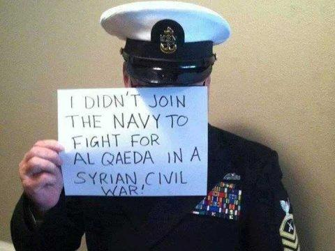 sailor protest syria