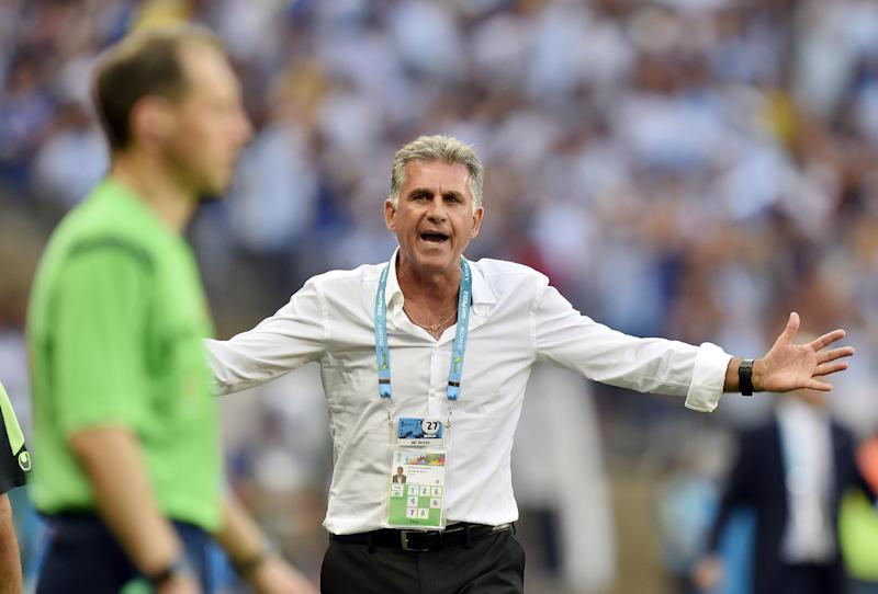 Iran coach blasts referee who waved away penalty