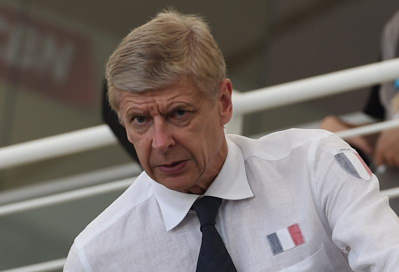 Arsenal French manager Arsene Wenger attends the Group E match between Ecuador and France at the Maracana Stadium in Rio de Janeiro during the 2014 FIFA World Cup on June 25, 2014