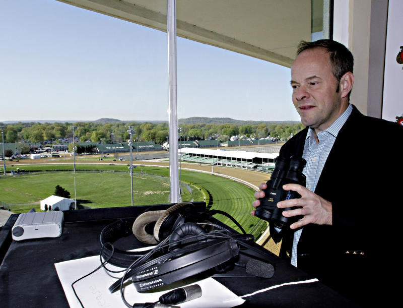 Announcer relishes role as voice of Kentucky Derby