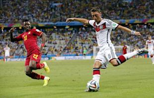 Will the U.S. team be able to contain Germany's Mesut Ozil? (AP)