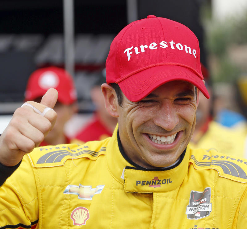 Pagenaud wins 2nd race of Houston doubleheader