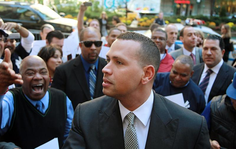 A-Rod's lawyers blocked by MLB at news conference