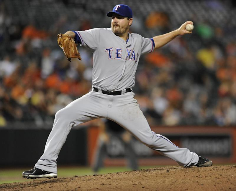 Rangers designate LHP Saunders for assignment