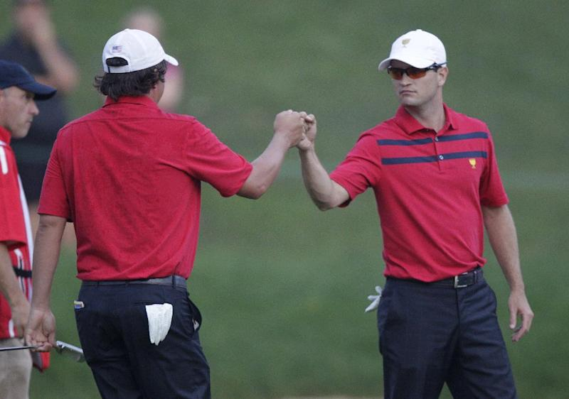 Zach and Duf take a break, then pick up big point