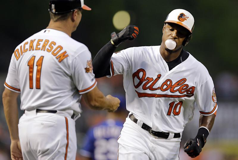 Jones, Flaherty homer as Orioles beat Rangers 6-4