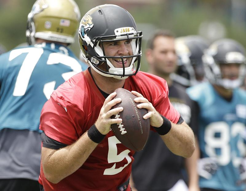 Jaguars QB Bortles gets 1st-team reps in practice
