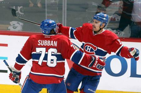 NHL: Stanley Cup Playoffs-New York Rangers at Montreal Canadiens