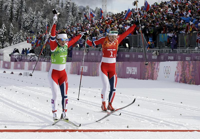 Norway, Finland win cross-country team sprints